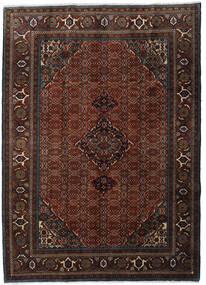 Ardebil Matta 207X288 Äkta Orientalisk Handknuten Mörkbrun/Mörkröd (Ull, Persien/Iran)