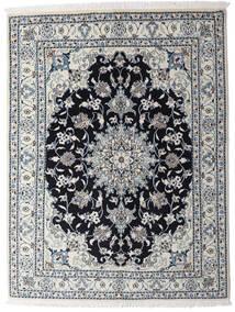 Nain Matta 150X195 Äkta Orientalisk Handknuten Ljusgrå/Mörkgrå (Ull, Persien/Iran)