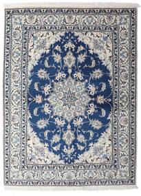 Nain Matta 153X206 Äkta Orientalisk Handknuten Ljusgrå/Mörkblå (Ull, Persien/Iran)