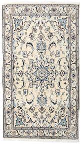 Nain Matta 121X215 Äkta Orientalisk Handknuten Beige/Ljusgrå (Ull, Persien/Iran)