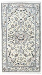 Nain Matta 121X212 Äkta Orientalisk Handknuten Beige/Ljusgrå/Ljusblå (Ull, Persien/Iran)