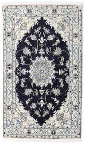 Nain Matta 125X208 Äkta Orientalisk Handknuten Ljusgrå/Mörklila (Ull, Persien/Iran)
