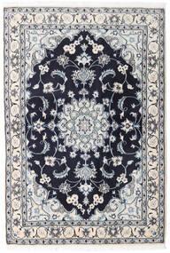 Nain Matta 131X194 Äkta Orientalisk Handknuten Ljusgrå/Mörklila (Ull, Persien/Iran)