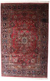 Keshan Indisk Matta 198X315 Äkta Orientalisk Handknuten Mörkröd/Svart (Ull, Indien)
