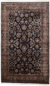 Keshan Indisk Matta 186X310 Äkta Orientalisk Handknuten Svart/Mörkbrun (Ull, Indien)