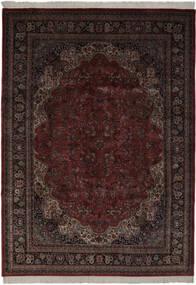 Keshan Indisk Matta 256X361 Äkta Orientalisk Handknuten Mörkbrun/Svart Stor (Ull, Indien)