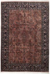 Keshan Indisk Matta 245X355 Äkta Orientalisk Handknuten Mörkbrun/Svart (Ull, Indien)