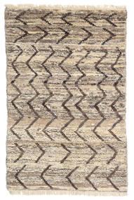Moroccan Berber - Afghanistan Matta 114X176 Äkta Modern Handknuten Ljusgrå/Beige (Ull, Afghanistan)
