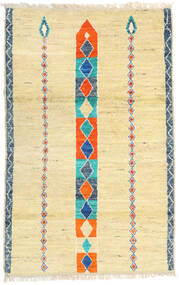 Moroccan Berber - Afghanistan Matta 113X182 Äkta Modern Handknuten Mörkbeige/Beige (Ull, Afghanistan)