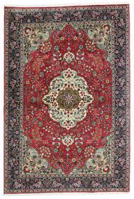Tabriz Matta 100X150 Äkta Orientalisk Handknuten Svart/Mörkgrå (Ull, Persien/Iran)