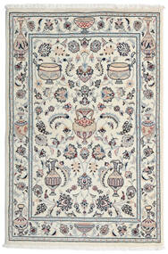 Kashmar Matta 101X154 Äkta Orientalisk Handknuten Ljusgrå/Vit/Cremefärgad (Ull, Persien/Iran)