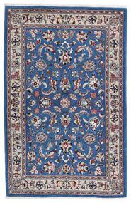 Kashmar Matta 105X160 Äkta Orientalisk Handknuten Ljusgrå/Mörkblå (Ull, Persien/Iran)