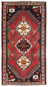 Ghashghai Matta 85X156 Äkta Orientalisk Handknuten Mörkröd/Svart (Ull, Persien/Iran)