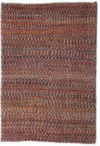 Loribaft Persisk Matta 61X90 Äkta Modern Handknuten Mörkröd/Mörkbrun (Ull, Persien/Iran)