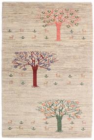 Loribaft Persisk Matta 100X149 Äkta Modern Handknuten Ljusgrå/Beige (Ull, Persien/Iran)