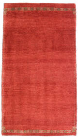 Loribaft Persisk Matta 73X132 Äkta Modern Handknuten Roströd/Röd (Ull, Persien/Iran)