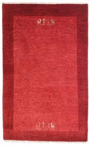 Loribaft Persisk Matta 79X128 Äkta Modern Handknuten Röd/Roströd (Ull, Persien/Iran)