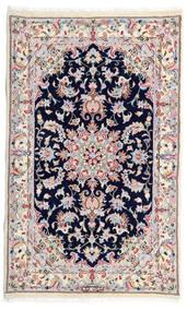 Kashmar Matta 77X130 Äkta Orientalisk Handknuten Vit/Cremefärgad/Ljusgrå (Ull, Persien/Iran)