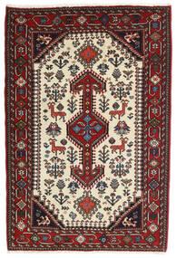 Ghashghai Matta 86X128 Äkta Orientalisk Handknuten Mörkröd/Mörkbrun (Ull, Persien/Iran)