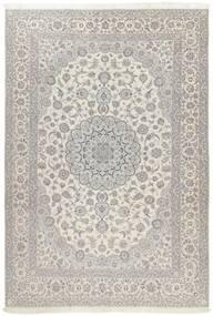 Nain 6La Matta 241X340 Äkta Orientalisk Handknuten Ljusgrå/Mörkbeige (Ull/Silke, Persien/Iran)