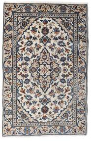 Keshan Matta 90X140 Äkta Orientalisk Handknuten Ljusgrå/Mörkgrå (Ull, Persien/Iran)