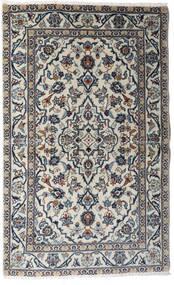 Keshan Matta 95X154 Äkta Orientalisk Handknuten Ljusgrå/Mörkgrå (Ull, Persien/Iran)