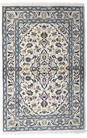 Keshan Matta 100X150 Äkta Orientalisk Handknuten Ljusgrå/Mörkgrå (Ull, Persien/Iran)