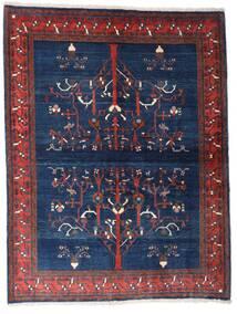 Gabbeh Kashkooli Matta 154X200 Äkta Modern Handknuten Mörklila/Mörkblå (Ull, Persien/Iran)