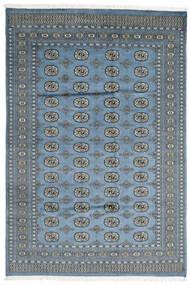 Pakistan Bokhara 2Ply Matta 184X274 Äkta Orientalisk Handknuten Ljusgrå/Blå (Ull, Pakistan)