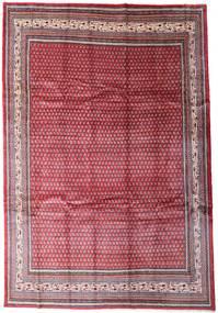 Sarough Mir Matta 250X366 Äkta Orientalisk Handknuten Röd/Ljusrosa Stor (Ull, Persien/Iran)