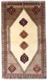 Ghashghai Matta 128X224 Äkta Orientalisk Handknuten Beige/Mörkbrun (Ull, Persien/Iran)
