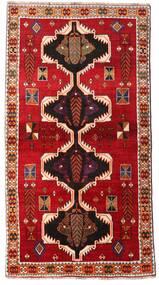 Ghashghai Matta 117X220 Äkta Orientalisk Handknuten Roströd/Mörkröd (Ull, Persien/Iran)