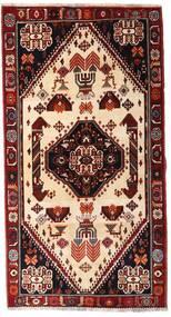 Ghashghai Matta 120X225 Äkta Orientalisk Handknuten Mörkröd/Beige (Ull, Persien/Iran)
