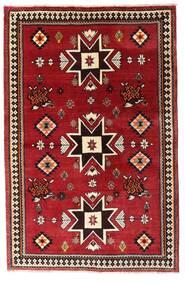 Ghashghai Matta 127X197 Äkta Orientalisk Handknuten Mörkröd (Ull, Persien/Iran)