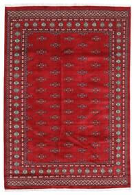 Pakistan Bokhara 2Ply Matta 174X254 Äkta Orientalisk Handknuten Röd/Mörkröd (Ull, Pakistan)