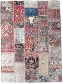 Patchwork - Persien/Iran Matta 172X236 Äkta Modern Handknuten Ljuslila/Ljusgrå (Ull, Persien/Iran)
