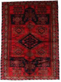 Lori Matta 176X246 Äkta Orientalisk Handknuten Mörkröd/Mörkbrun (Ull, Persien/Iran)