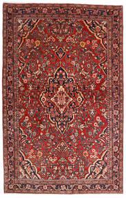 Sarough Sherkat Farsh Matta 132X208 Äkta Orientalisk Handknuten Mörkröd/Mörkbrun (Ull, Persien/Iran)