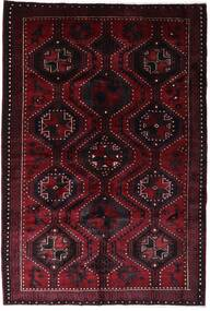 Lori Matta 168X250 Äkta Orientalisk Handknuten Mörkröd (Ull, Persien/Iran)