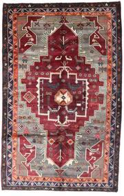 Lori Matta 159X257 Äkta Orientalisk Handknuten Mörkröd/Mörkbrun (Ull, Persien/Iran)