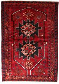 Lori Matta 170X238 Äkta Orientalisk Handknuten Mörkröd/Mörkbrun (Ull, Persien/Iran)