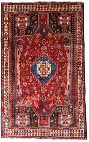 Ghashghai Matta 164X264 Äkta Orientalisk Handknuten Mörkröd/Roströd (Ull, Persien/Iran)