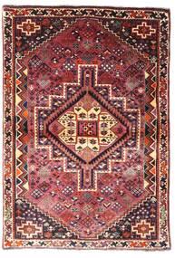 Ghashghai Matta 107X156 Äkta Orientalisk Handknuten Mörkröd/Mörkbrun (Ull, Persien/Iran)