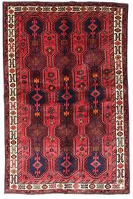Lori Matta 153X237 Äkta Orientalisk Handknuten Mörkröd/Röd (Ull, Persien/Iran)