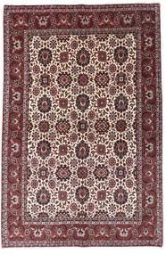 Bidjar Matta 138X210 Äkta Orientalisk Handknuten Mörkbrun/Mörkröd (Ull, Persien/Iran)