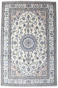 Nain Matta 194X295 Äkta Orientalisk Handknuten Vit/Cremefärgad/Mörkgrå (Ull, Persien/Iran)