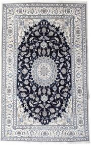 Nain Matta 197X313 Äkta Orientalisk Handknuten Ljusgrå/Svart (Ull, Persien/Iran)