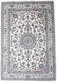 Nain Matta 198X290 Äkta Orientalisk Handknuten Beige/Mörkgrå/Vit/Cremefärgad (Ull, Persien/Iran)