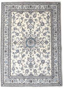 Nain Matta 167X230 Äkta Orientalisk Handknuten Ljusgrå/Beige (Ull, Persien/Iran)