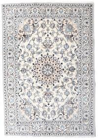 Nain Matta 164X242 Äkta Orientalisk Handknuten Beige/Ljusgrå (Ull, Persien/Iran)